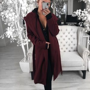 ekAttire Jackets & Coats - 🆕SAINT in Merlot
